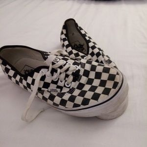 Men's 7.5 Vans shoes
